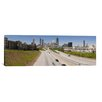 iCanvas Panoramic 'Vehicles Moving on the Road Leading Towards the City, Atlanta, Georgia' Photographic Print on Canvas
