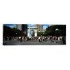 iCanvas Panoramic Washington Square Arch, Washington Square Park, Manhattan, New York City Photographic Print on Canvas