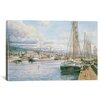 "iCanvas ""San Pedro Sunrise, California 1913"" by Stanton Manolakas Painting Print on Canvas"