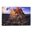 iCanvas 'The Tower of Babel' by Pieter Bruegel Painting Print on Canvas