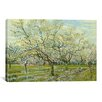 iCanvas 'The White Orchard' by Vincent Van Gogh Painting Print on Canvas