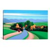 """iCanvas """"The Winding Road"""" by Ron Parker Graphic Art on Canvas"""