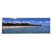 iCanvas Panoramic Waikiki Beach, Honolulu, Oahu, Hawaii Photographic Print on Canvas