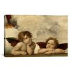 iCanvas 'The Two Angels' by Raphael Painting Print on Canvas