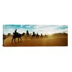 iCanvas Panoramic 'Sahara Desert, Morocco' by Berber Man, Morocco Photographic Print on Canvas