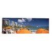 iCanvas Panoramic 'Waikiki Beach, Honolulu, Oahu, Hawaii 2010' Photographic Print on Canvas