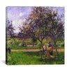 "iCanvas ""The Wheelbarrow"" Canvas Wall Art by Camille Pissarro"