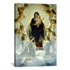 iCanvas 'The Virgin with Angels' by William-Adolphe Bouguereau Painting Print on Canvas