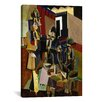 iCanvas Fine Art 'The Visit' by Max Weber Painting Print on Canvas