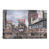 "iCanvas ""Times Square: New York"" Canvas Wall Art by Stanton Manolakas"