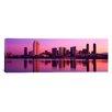 iCanvas Panoramic California, San Diego, Twiilight Photographic Print on Canvas