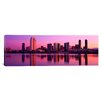 iCanvas Panoramic San Diego, California, Twiilight Photographic Print on Canvas