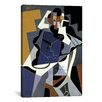 iCanvas 'Seated Woman' by Juan Gris Graphic Art on Canvas