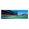 iCanvas Panoramic California, San Francisco, SBC Ballpark, Spectator Watching the Baseball Game in the Stadium Photographic Print on Canvas