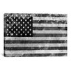 iCanvas Flags U.S.A. Grunge Graphic Art on Canvas