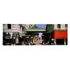 iCanvas Panoramic California, San Francisco, Chinatown, Tourists in the Market Photographic Print on Canvas