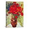 iCanvas 'Vase with Daisies and Poppies' by Vincent Van Gogh Painting Print on Canvas
