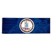 iCanvas Flags Virginia Panoramic Graphic Art on Canvas