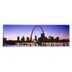 iCanvas Panoramic Skyline St Louis Missouri Photographic Print on Canvas