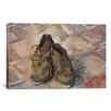 iCanvas 'Shoes 1888' by Vincent Van Gogh Painting Print on Canvas