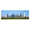 iCanvas Panoramic Skyline Dallas TX Photographic Print on Canvas