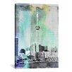 iCanvas Toronto, Canada Tower 4 Graphic Art on Canvas
