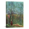 iCanvas 'The Walk in the Forest (Am Waldrand) 1886' by Henri Rousseau Painting Print on Canvas