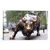 iCanvas Political The Wall Street Bull Photographic Print on Canvas