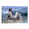 iCanvas 'The Wave (La Vague)' by William-Adolphe Bouguereau Painting Print on Canvas