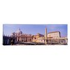 iCanvas Panoramic Vatican, St. Peters Square, Rome, Italy Photographic Print on Wrapped Canvas