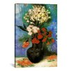 iCanvas 'Vase of Carnations and Other Flowers' by Vincent Van Gogh Painting Print on Canvas