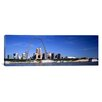 iCanvas Panoramic Skyline Gateway Arch St. Louis MO Photographic Print on Canvas
