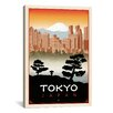 iCanvas 'Tokyo, Japan' by Anderson Design Group Vintage Advertisement on Canvas
