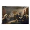 iCanvas Political 'Signing of The Declaration of Independence' by John Trumbull Painting Print on Canvas