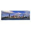iCanvas Panoramic Illinois, Chicago, View of an Urban Skyline by the Shore Photographic Print on Canvas