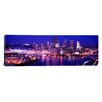 iCanvas Panoramic Pennsylvania, Pittsburgh at Dusk Photographic Print on Canvas