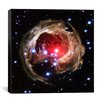 iCanvas V838 Monocerotis (Hubble Space Telescope) Canvas Wall Art