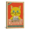 iCanvas 'VAF Kitty Krunch' by Anderson Design Group Vintage Advertisement on Canvas