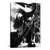 iCanvas Political Wall Street Bull Close-up Photographic Print on Canvas