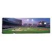 iCanvas Panoramic Illinois, Chicago, White Sox, Baseball Photographic Print on Canvas