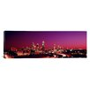 iCanvas Panoramic Atlanta, Georgia, Night Photographic Print on Canvas