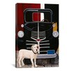 "iCanvas ""Virgil in Front of the Ranch Truck"" Canvas Wall Art by Jan Panico"