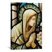 iCanvas Christian Virgin Marry Stained Glass Painting Print on Canvas
