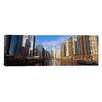 iCanvas Panoramic Skyscraper in a City, Trump Tower, Chicago, Cook County, Illinois Photographic Print on Canvas