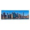 iCanvas Panoramic Lower Manhattan, Manhattan, New York City, New York State, 2011 Photographic Print on Canvas