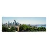 iCanvas Panoramic Skyscrapers in a City, Space Needle, Seattle, Washington State Photographic Print on Canvas