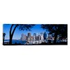 iCanvas Panoramic Skyscrapers on the Waterfront, Manhattan, New York City, New York State Photographic Print on Canvas