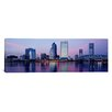 iCanvas Panoramic Skyscrapers on the Waterfront, St. John's River, Jacksonville, Florida Photographic Print on Canvas