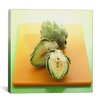 iCanvas Food and Cuisine Sliced Artichokes on a Board Photographic Print on Canvas