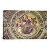 iCanvas 'Stanza Della Segnatura' by Raphael Painting Print on Canvas